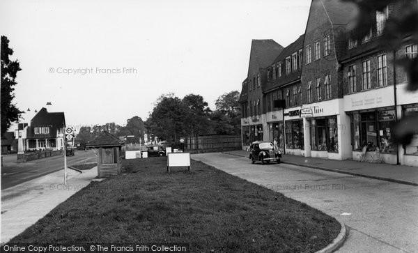Burpham, London Road c.1955