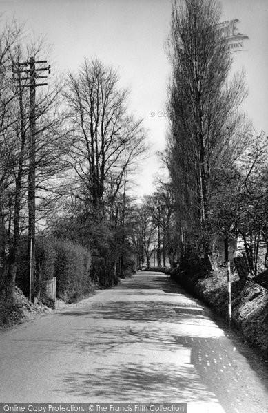 Burpham, New Inn Lane c.1955