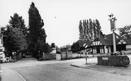 Burpham, The Cross Roads c.1955