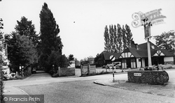 Burpham, The Cross Roads c.1955