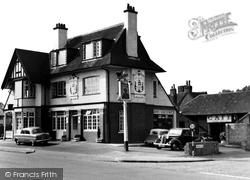 Burpham, The Green Man c.1960