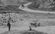 Burrington Combe, The Gorge c.1890