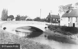 Burrowbridge, The Bridge c.1960