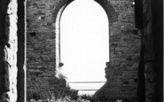 Burrowbridge, The Ruins On Burrow Mump c.1955