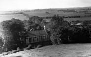 Burrowbridge, View From Burrow Mump c.1955