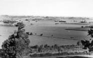 Burrowbridge, View From Burrow Mump c.1960