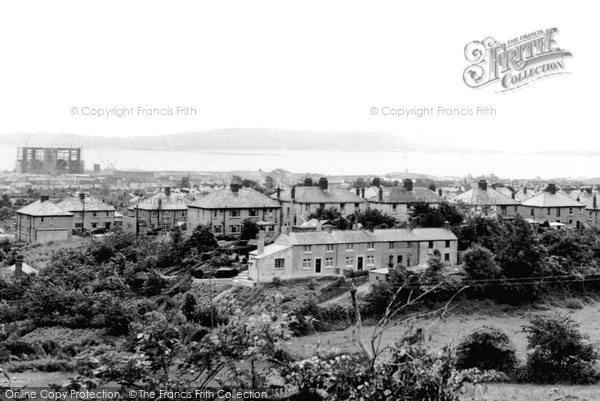 Burry Port, General View c.1955
