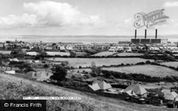 Burry Port, General View c.1960