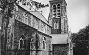 Burry Port, St Mary's Church c.1955