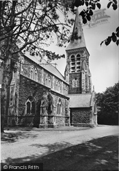 Burry Port, St Mary's Church c.1955