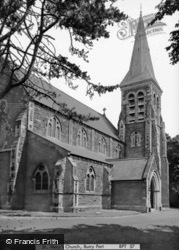 St Mary's Church c.1965, Burry Port