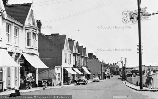 Burry Port, Station Road c.1955