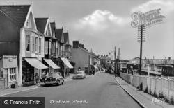 Station Road c.1955, Burry Port