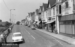 Burry Port, Station Road c.1965