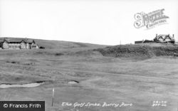Burry Port, The Golf Links c.1955
