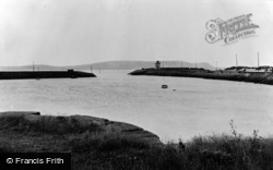 Burry Port, The Harbour c.1955