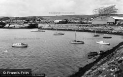 Burry Port, The Harbour c.1960