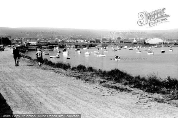 Burry Port, The Harbour c.1965