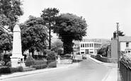 Burry Port, The Memorial c.1955
