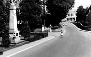 Burry Port, The Memorial c.1965