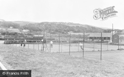 Burry Port, The Memorial Park c.1955