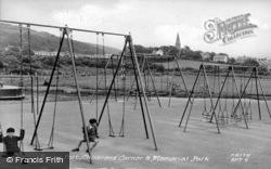 The Memorial Park c.1955, Burry Port
