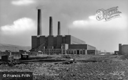 The Power Station c.1955, Burry Port