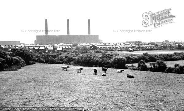 Burry Port, The Power Station c.1960