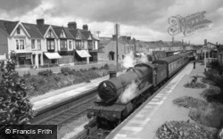 Burry Port, The Station And Station Road c.1960