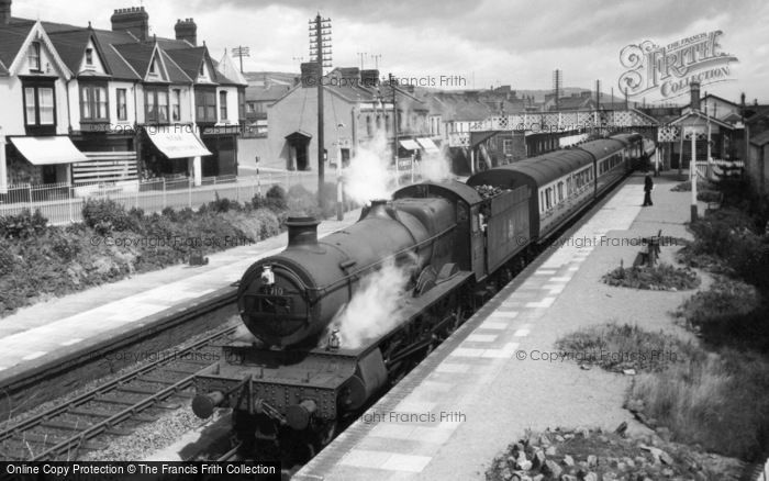 Photo of Burry Port, The Station c.1960
