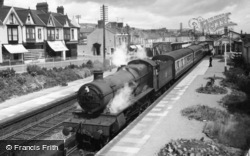 Burry Port, the Station c1960