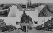 Burscough, Composite c.1950