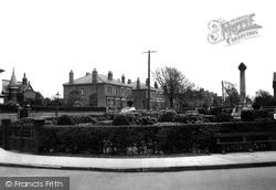 Junction Lane And Memorial c.1950, Burscough
