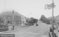 Liverpool Road North c.1960, Burscough