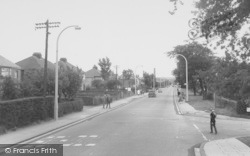 Liverpool Road South c.1955, Burscough