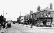 Burscough, Looking West c.1950