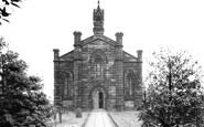 Burscough, St John's Church c.1950