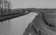 Burscough, The Canal c.1950