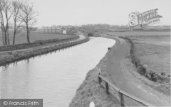 The Canal c.1950, Burscough