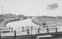 The Canal c.1960, Burscough