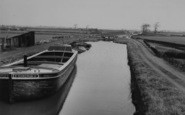 Burscough, The Canal, Top Locks c.1950