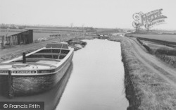 The Canal, Top Locks c.1950, Burscough