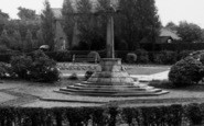 Burscough, The Memorial c.1960