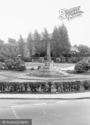 The Memorial c.1960, Burscough
