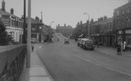 Burscough, The Shopping Centre c.1960