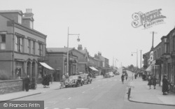 The Village c.1950, Burscough