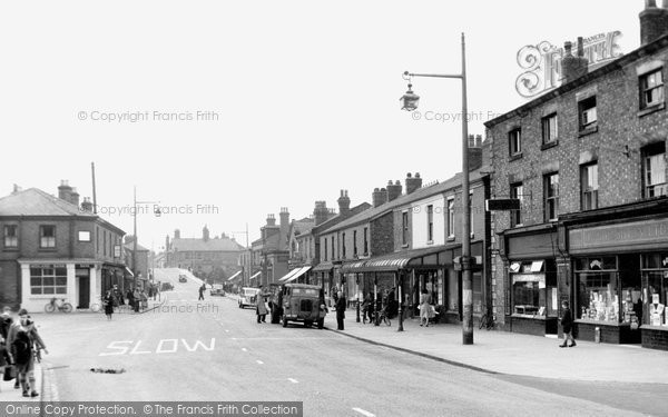 Burscough, The Village c.1950
