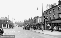 The Village c.1950, Burscough