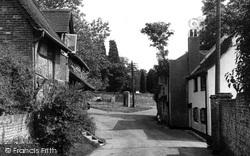 Old Bursledon Village c.1955, Bursledon