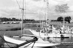 River Hamble c.1955, Bursledon